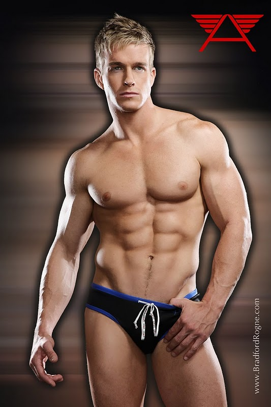 Muscle Hunk James Ellis by Bradford Rogne