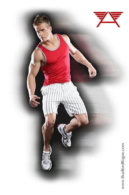 Muscle Hunk James Ellis by Bradford Rogne
